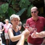 Weinprobe nach Wanderung